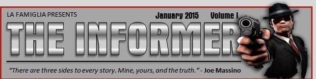 The Informer Volume 1 January 2015